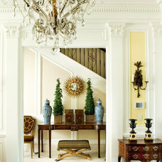 Traditional Hall by Malone Construction Company