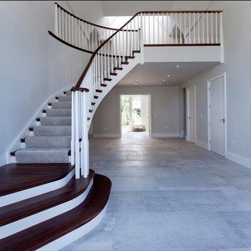 Renovation of Large Arts & Crafts Family Home - Entrance Hallway