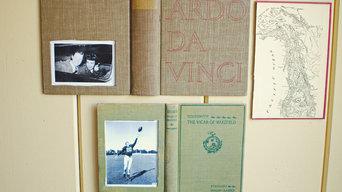 Repurposed & Vintage Book Wall Art