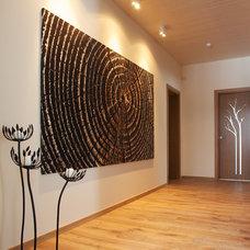 Contemporary Hall by Dalius & Greta Design