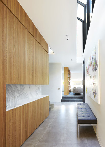 Contemporain Couloir by CHT Architects