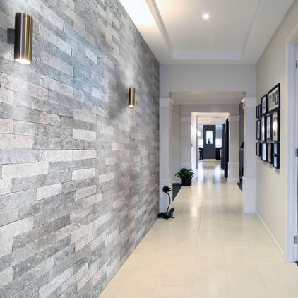 Modern Hall by Resido Natural Stone