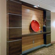 Contemporary Hall by Southam Design Inc