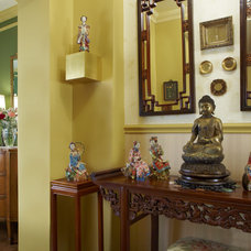 Asian Hall by Marilyn Davis  Revitalized Interiors Allied ASID