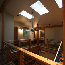 Contemporary Hall by Hammer & Hand
