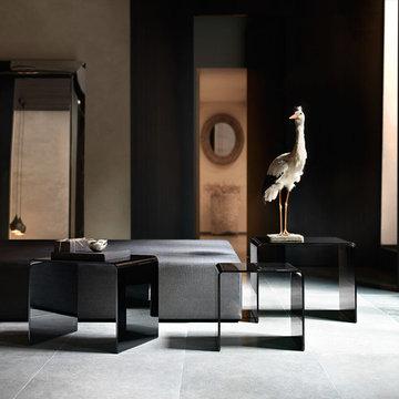 Rialto Tris End Table by Fiam Italia