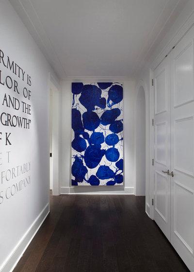 Modern Flur by Julia Wong Designs