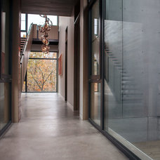 Contemporary Hall by BWArchitects (formerly Basil Walter Architects)