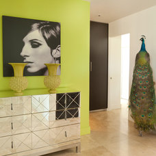 Eclectic Hall by Robert Bailey Interiors