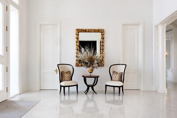 Modern Hall by Robert J Erdmann Design, LLC