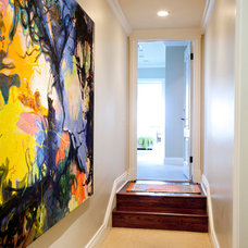 Contemporary Hall by UnCommon INteriors