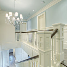 Transitional Hall by Rockwood Custom Homes