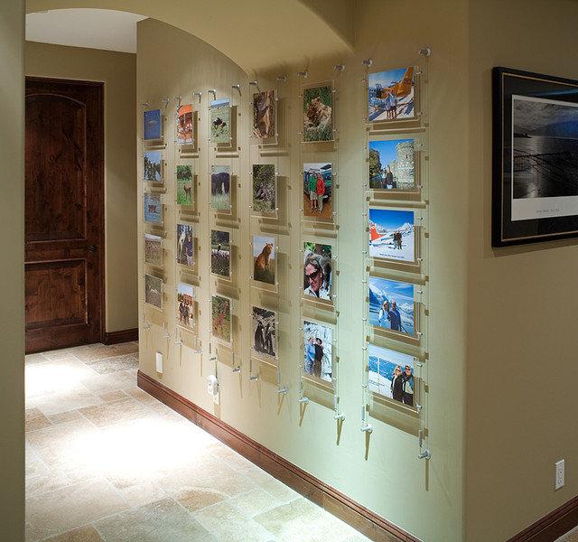 Traditional Hall by Lori Gentile Interior Design
