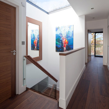 Rooflight Floods Light into the Staircase