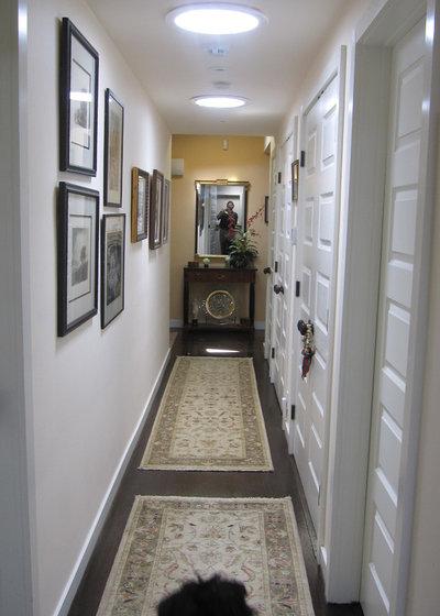 Contemporary Corridor by Addition Building & Design, Inc.