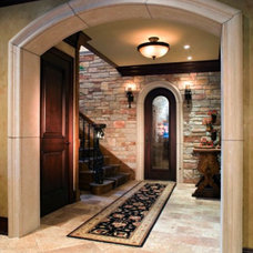 Traditional Hall by Kieran J. Liebl,  Royal Oaks Design, Inc. MN