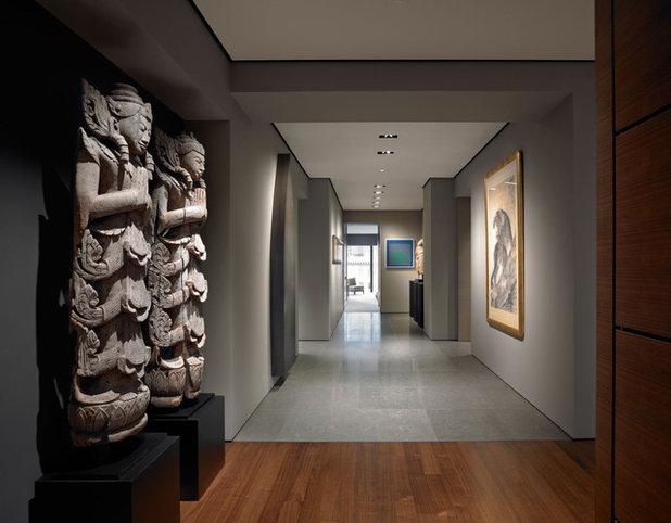 Asian Corridor by Zack|de Vito Architecture + Construction