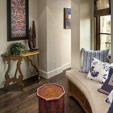 Mediterranean Hall by Tommy Chambers Interiors, Inc.