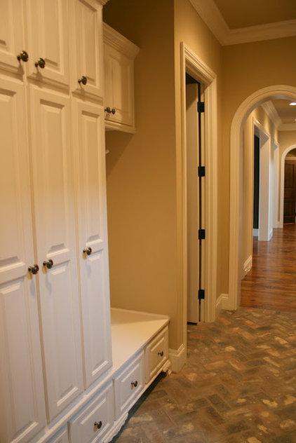 Traditional Hall by Sam Allen Custom Home Design