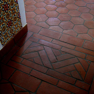 Santa Barbara Spanish Terra-Cotta Floors