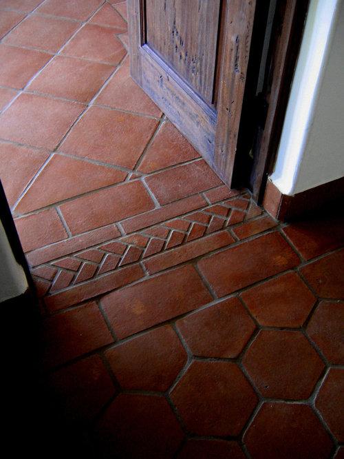 Mediterranean hallway design ideas renovations photos for Mediterranean flooring ideas