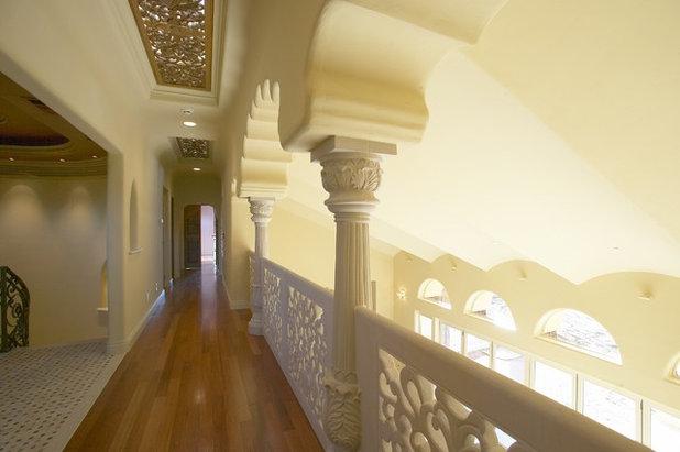 Eclectic Corridor by Louie Leu Architect, Inc.