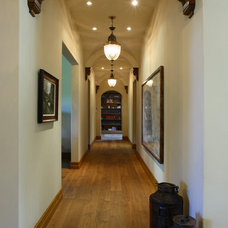 Traditional Hall by Culbertson Durst Interiors