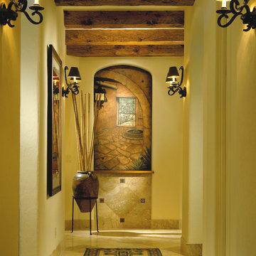 "Sater Design Collection's 6940 ""Sancho"" Home Plan"