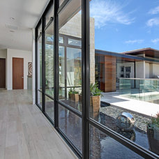 Contemporary Hall by Western Window Systems