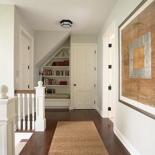 Second floor hall with reading nook