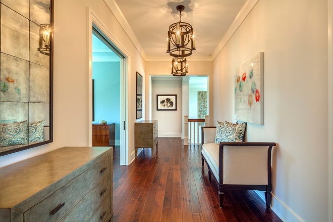 Transitional Hall by Collage Designs
