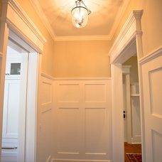 Traditional Hall by Perrone Construction