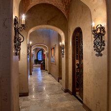 Mediterranean Hall by Gina Spiller Design