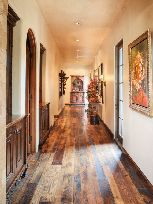 Mediterranean hallway design ideas pictures remodel decor for Floor decor phoenix