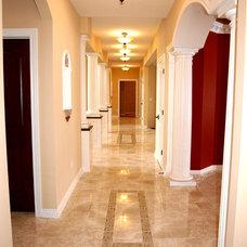 Mediterranean Hall by Alpine Design Custom Homes LLC