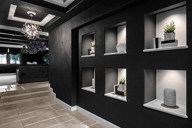 Contemporain Couloir by Orange Coast Interior Design