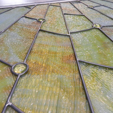 Skylights in Stained Glass / Flat