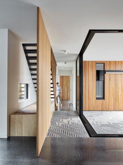 Modern Flur by Melbourne Design Studios (MDS)
