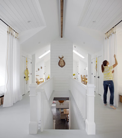 Coastal Hallway & Landing by Rethink Design Studio