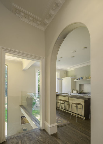 Traditional Hallway & Landing by nimtim Architects