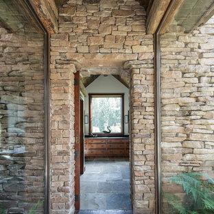 Inspiration för rustika hallar