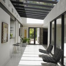Contemporary Hall by Michael Wolk Design Associates