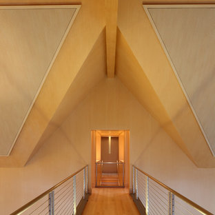 Example of a trendy hallway design in Chicago