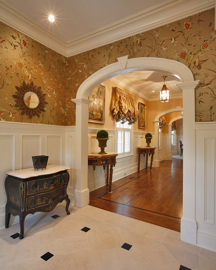 Traditional Hall by Country Club Homes