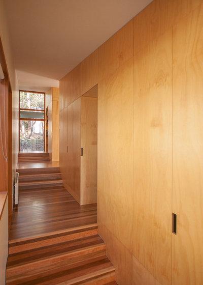 Contemporary Hallway & Landing by Matt Williams Architects