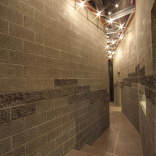 Contemporary Hall by C N Contracting & Consulting Inc.