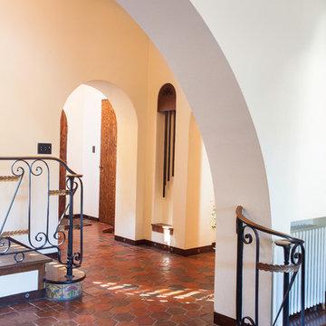 Spanish Mission Residence, historic renovation