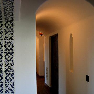 Spanish Style Barrel Vault hall