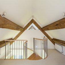 Contemporary  Spiral Staircase - Gloucester
