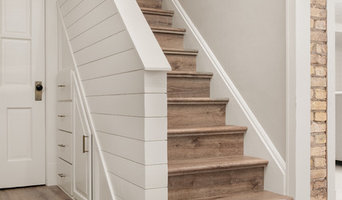 Stair Makeover and Storage